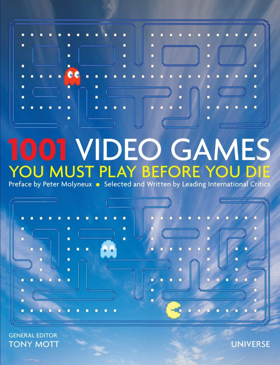 1001 gier - okładka