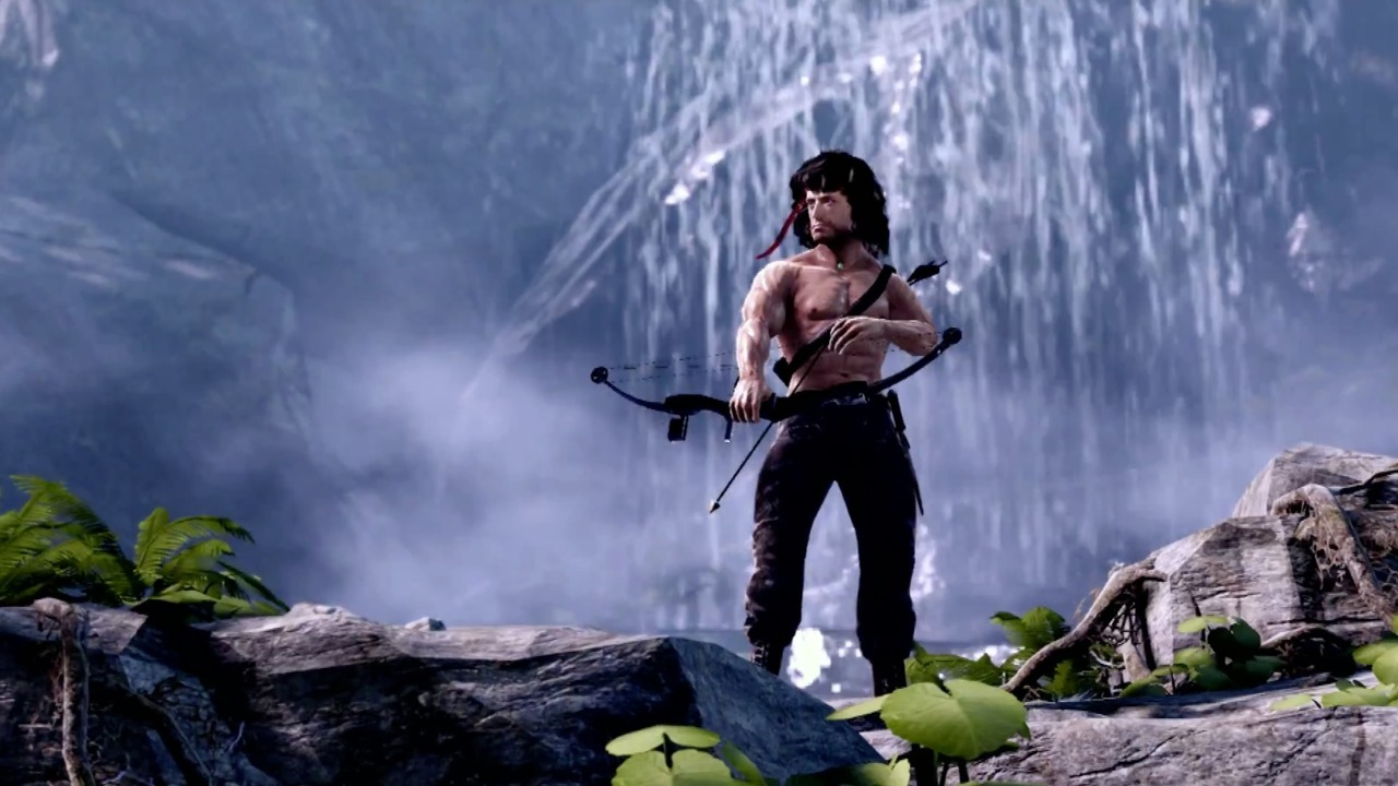 rambo the video games