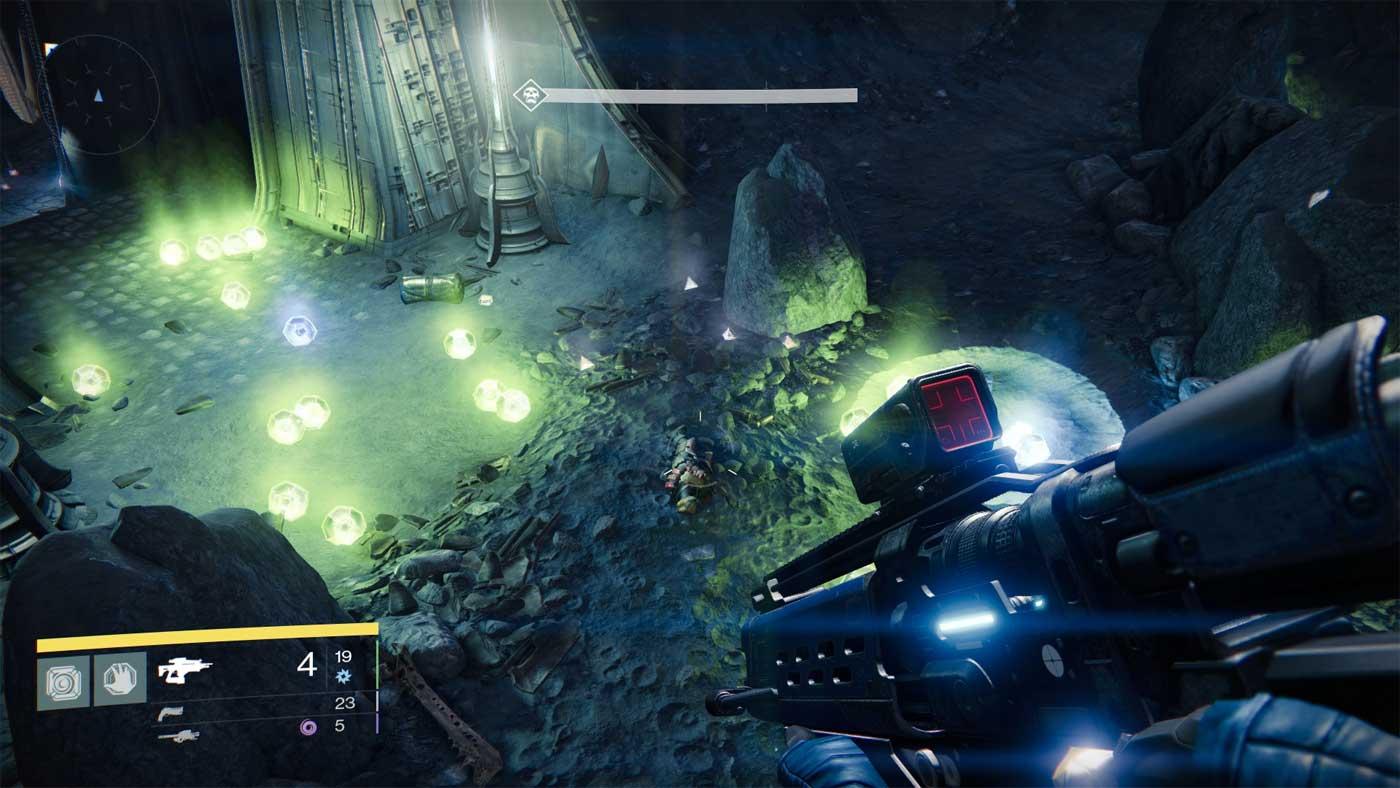 Destiny-cave