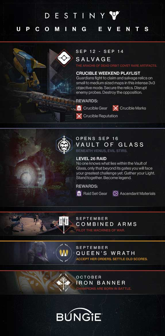 Destiny-upcoming-events