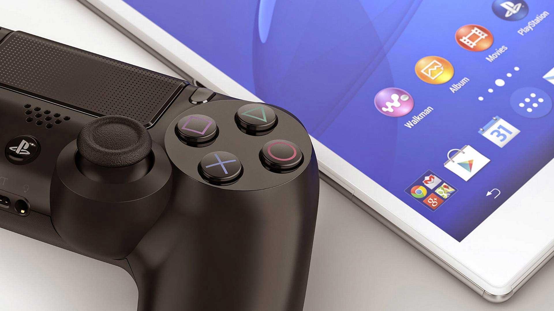 PS4-smartfon