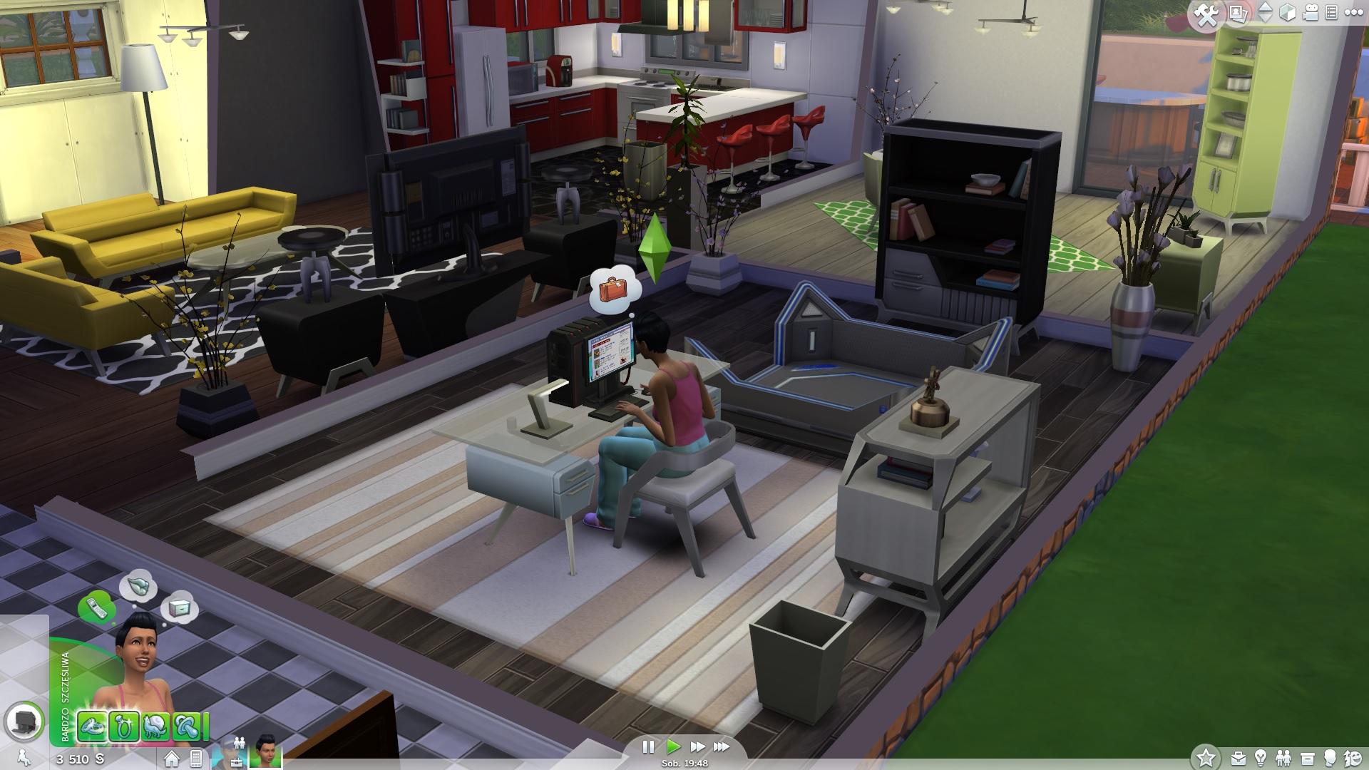 The Sims 4 - rozgrywka