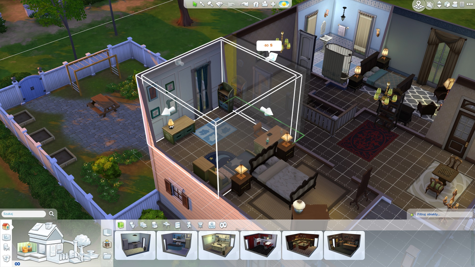 the sims 4 - rozbudowa domu