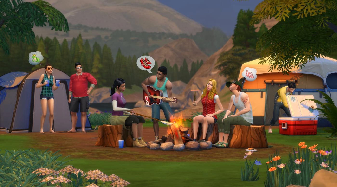 Sims-4-Ucieczka-w-plener