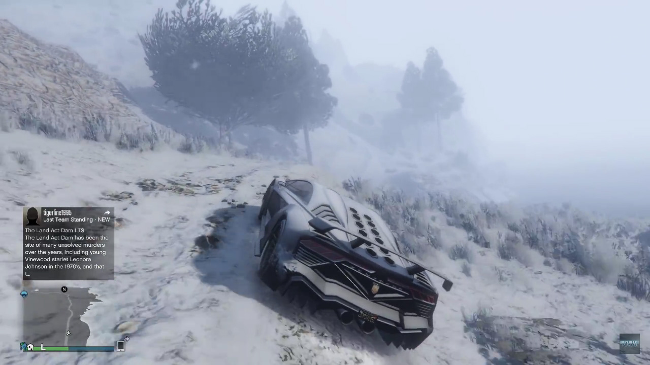 "Mod ""Snow in GTA: Online"""