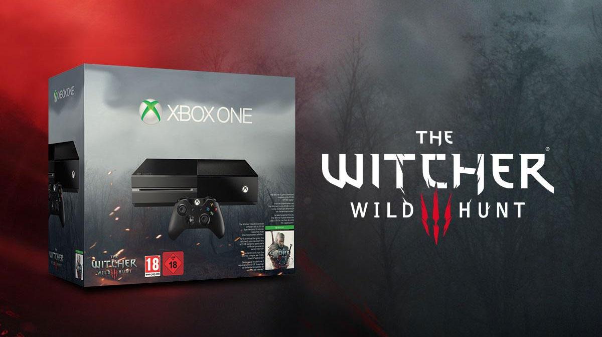 Xbox One w zestawie z Wiedźminem 3r