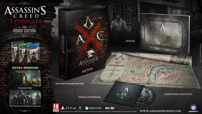 Assassin's Creed Syndicate Edycja Gawrony