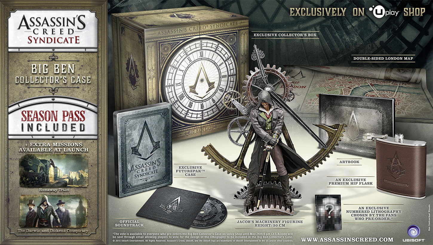 Assassin's Creed Syndicate Big Ben Collector Case