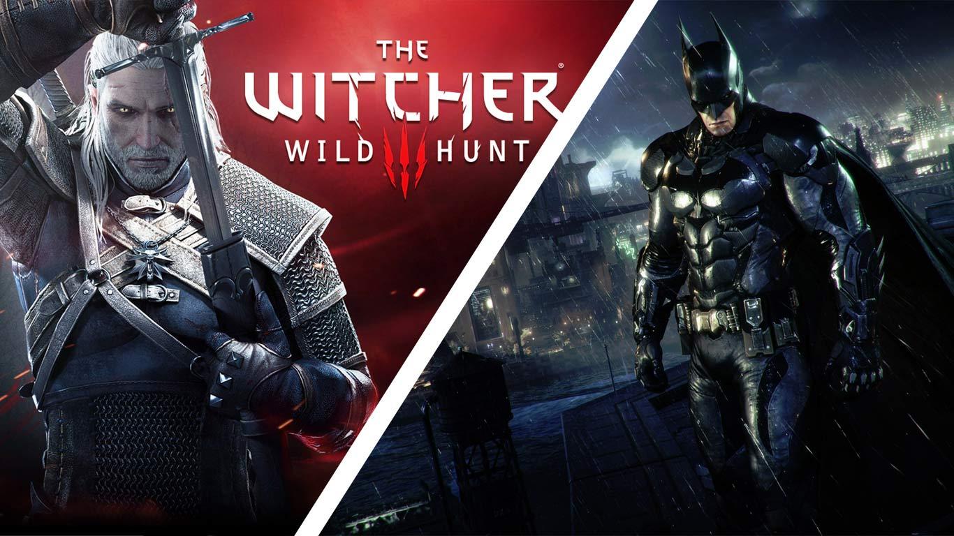 Wiedźmin 3: Dziki Gon / Batman: Arkham Knight