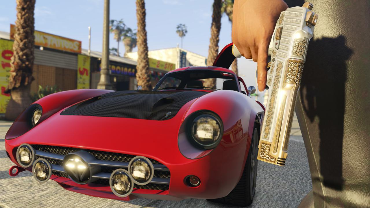 GTA V - Rockstar zapowiada nowe zabawki.