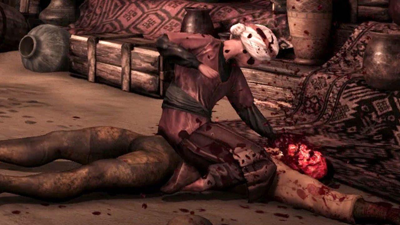 Mortal Kombat X - starsza pani w akcji.
