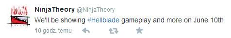 Więcej materiałów z Hellblade zobaczymy 10 czerwca.