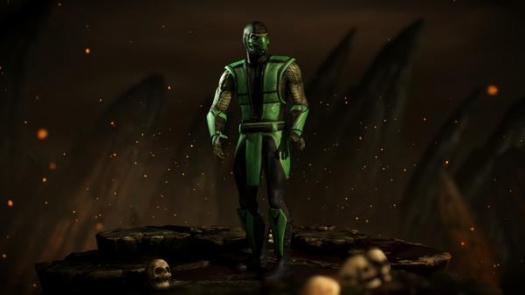 Klasyczny Reptile z Mortal Kombat