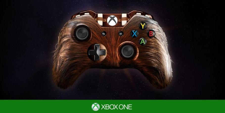 Xbox One - pad Chewbacca