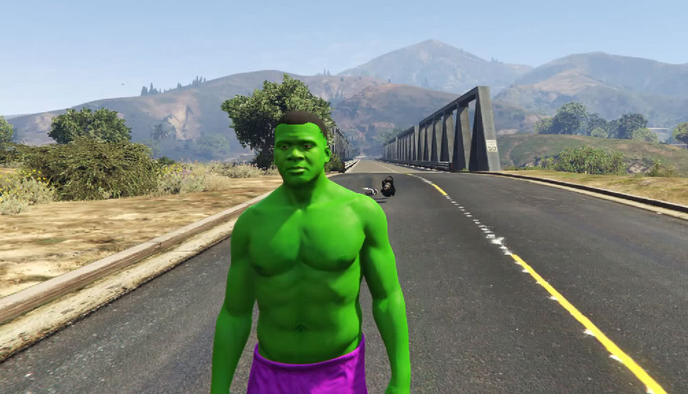 Mody do GTA V - Hulk