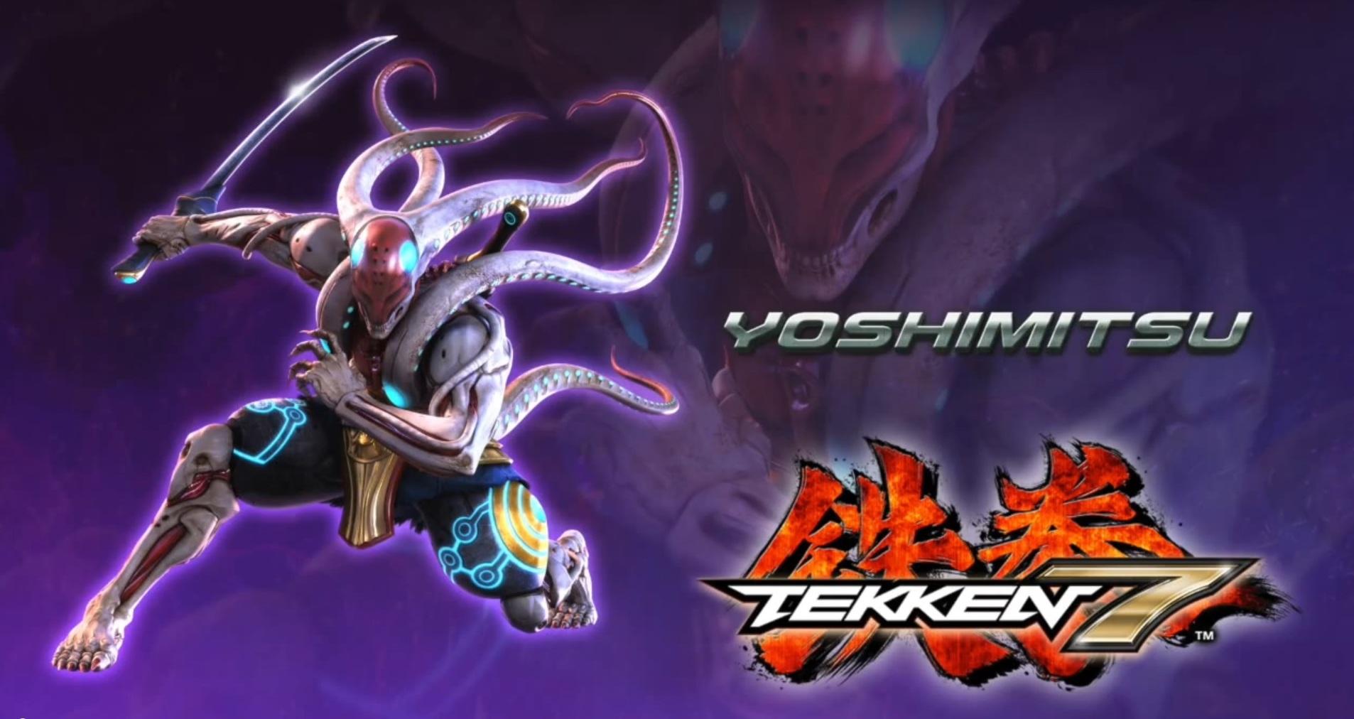 Yoshimitsu z Tekkena 7