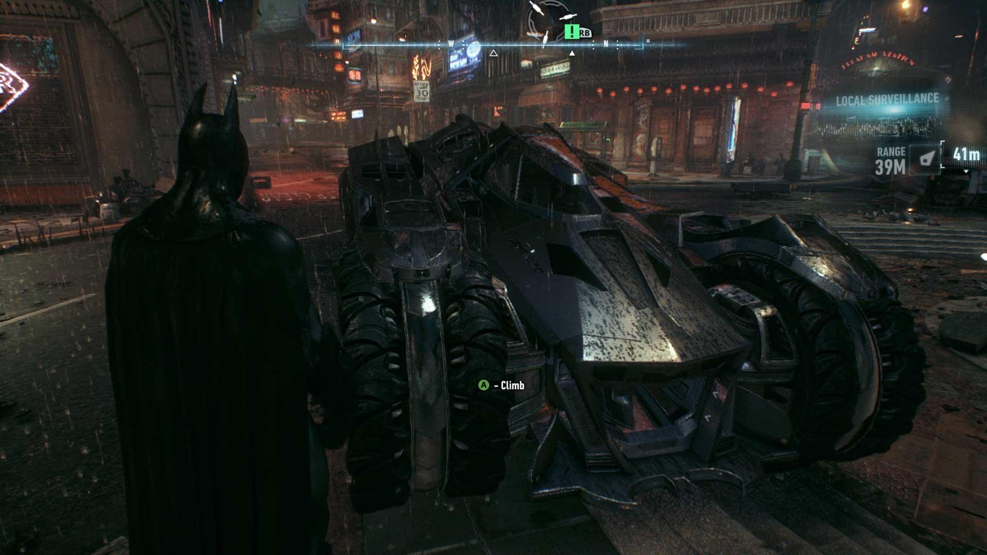 Batman: Arkham Knight - wersja konsolowa
