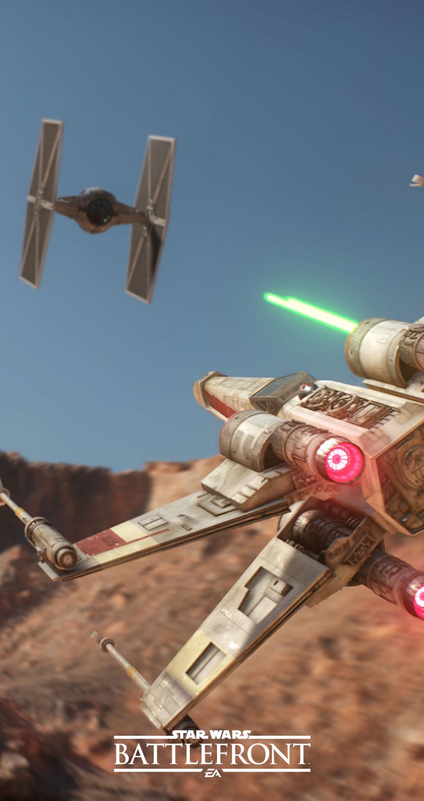Star Wars: Battlefront - tapeta na smartfona