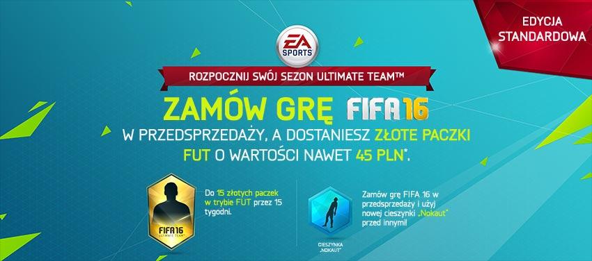 FIFA 16 - edycja standardowa