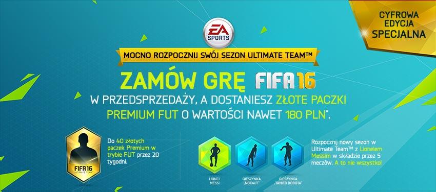 FIFA 16 - edycja specjalna