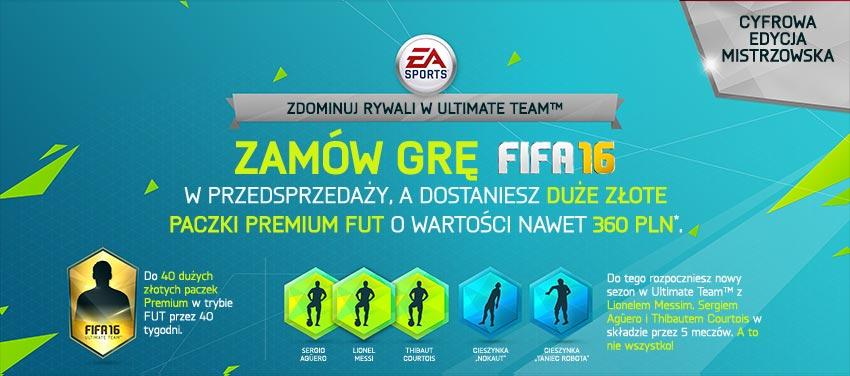 FIFA 16 - edycja mistrzowska