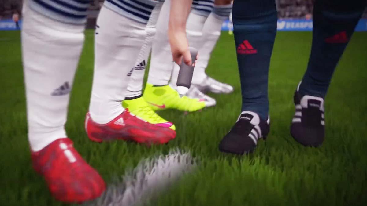 FIFA 16 - spray nowością w serii.