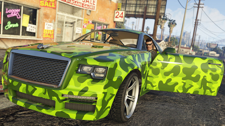 GTA V - patch 1.27