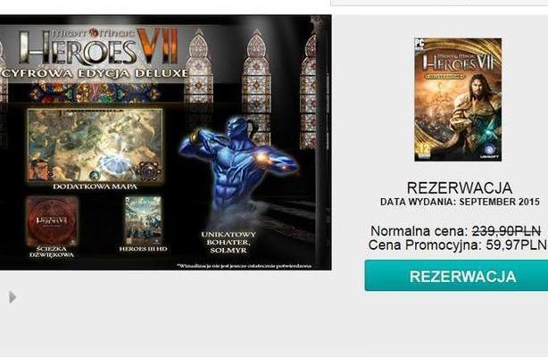 Heroes VII - promocja