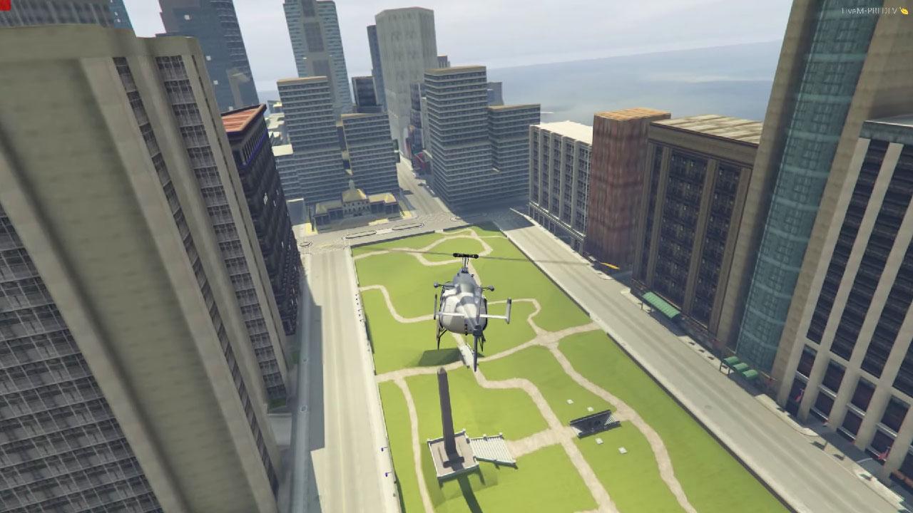 Liberty City w GTA V - na razie na wczesnym etapie prac.