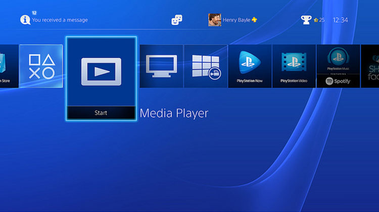 Media Player dla PS4