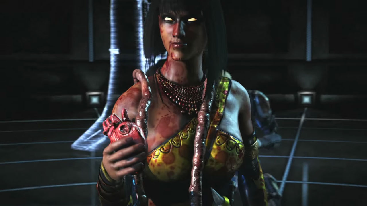 Mortal Kombat X - Tanya i jej Fatality.