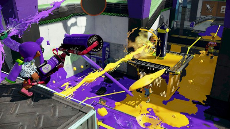 Splatoon - Tower Control