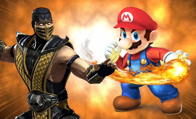 Super Smash Bros. vs Mortal Kombat