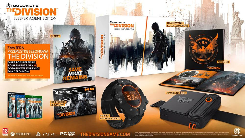 Tom Clancy's The Division - Sleeper Agent Collector Edition
