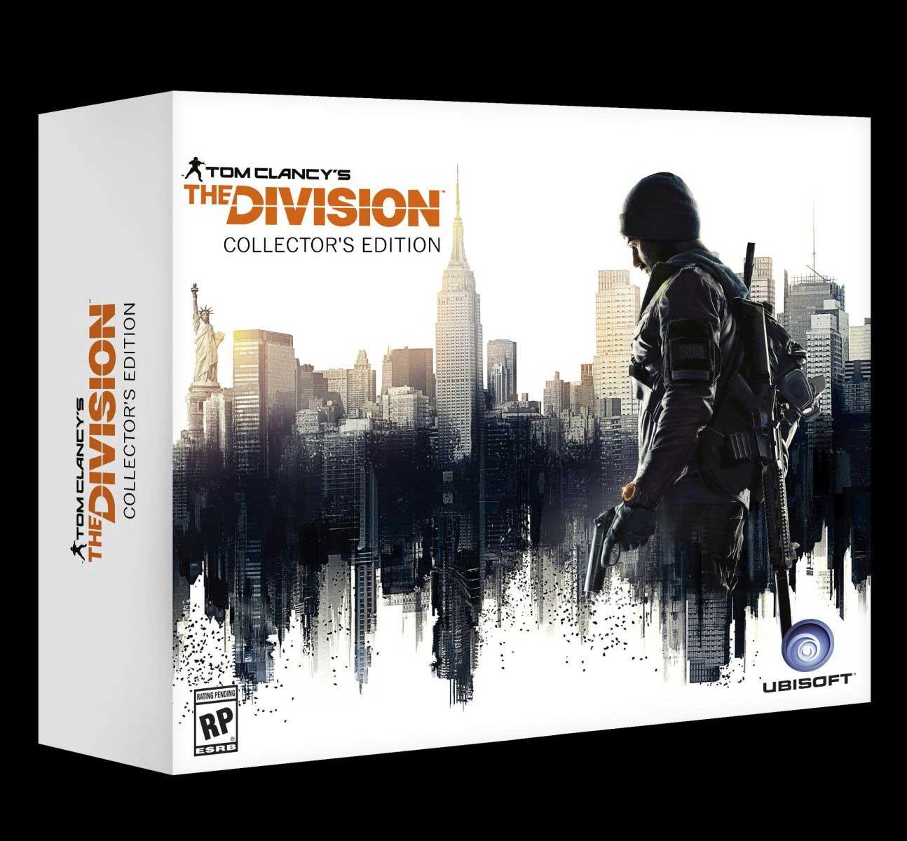 Tom Clancy's The Division - wydanie kolekcjonerskie.