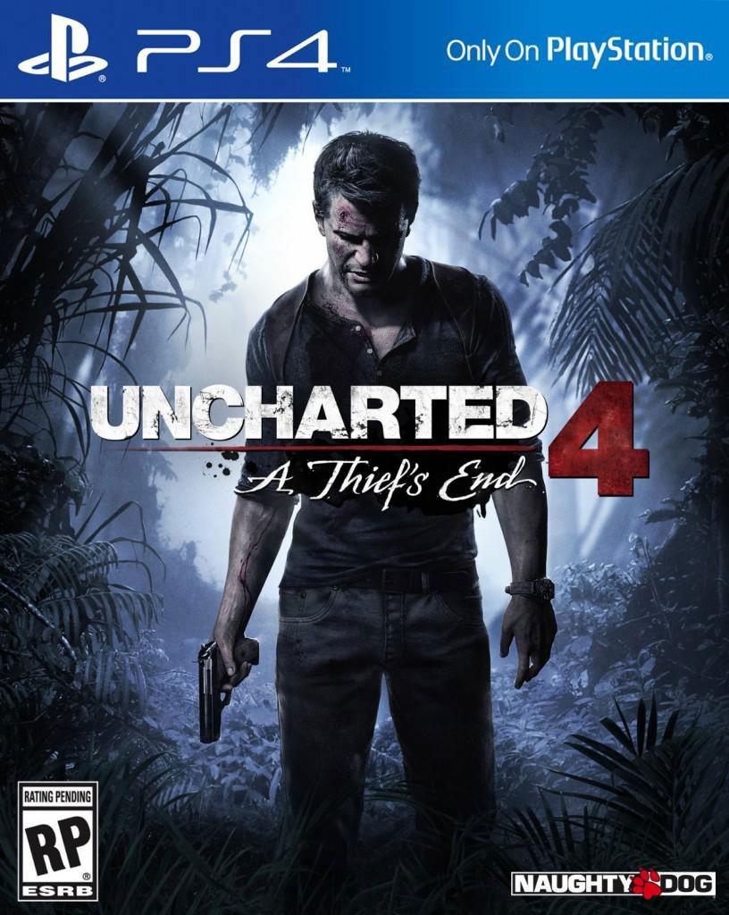 Uncharted 4 - tak może wyglądać okładka gry.