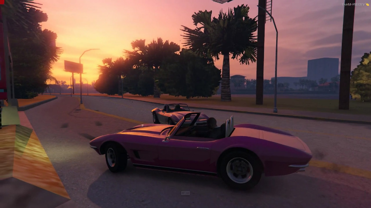GTA: Vice City w GTA V