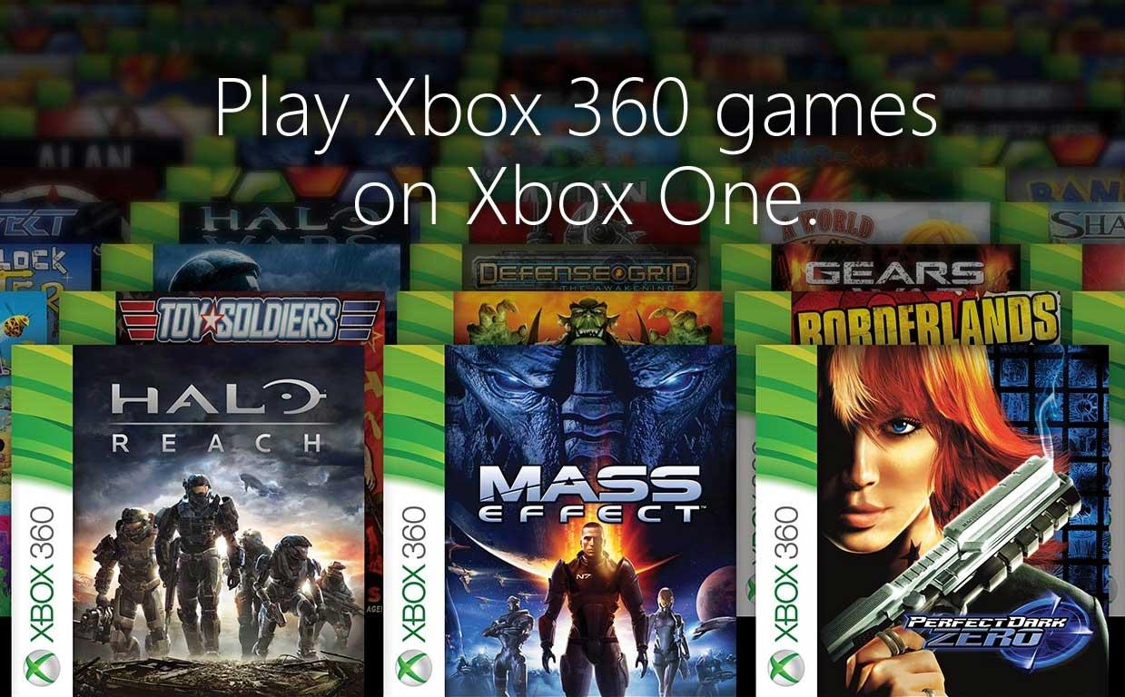 Wsteczna kompatybilność Xbox One