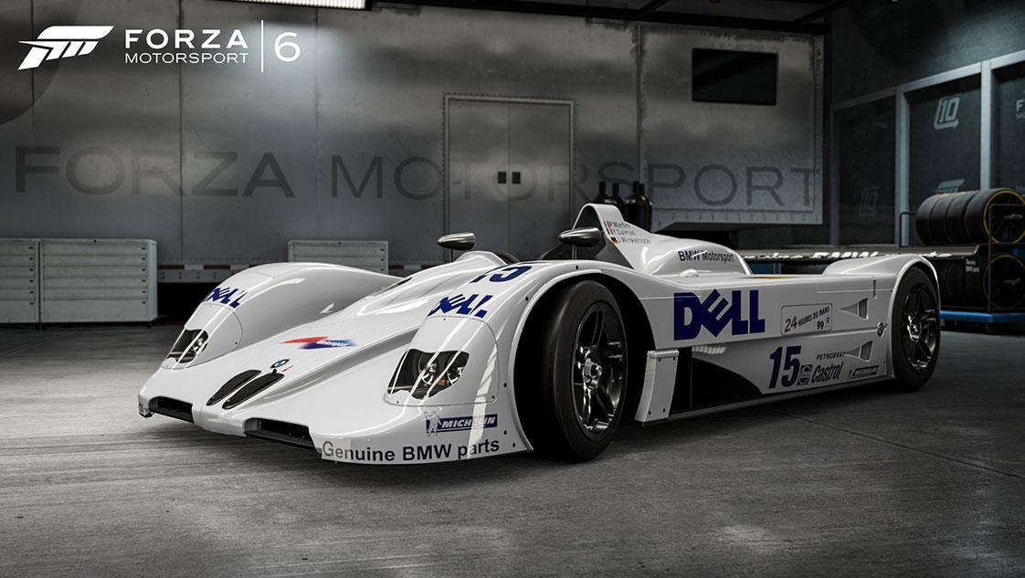 1999 BMW #15 BMW Motorsport V12 LMR