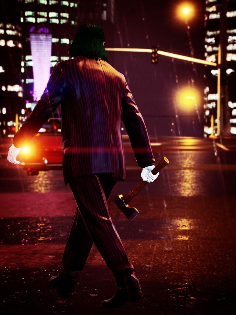 GTA V - Trevor jako Joker