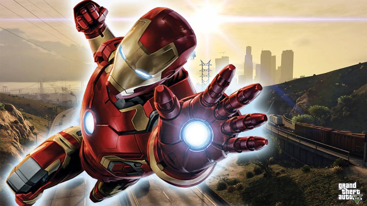 Mody do GTA V - Iron Man