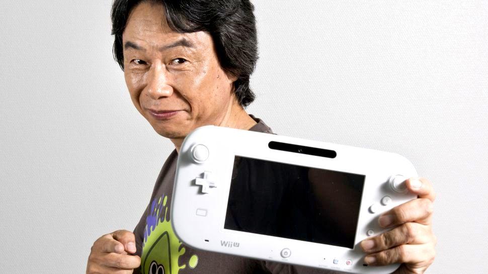 Nintendo Wii U i Shigeru Miyamoto