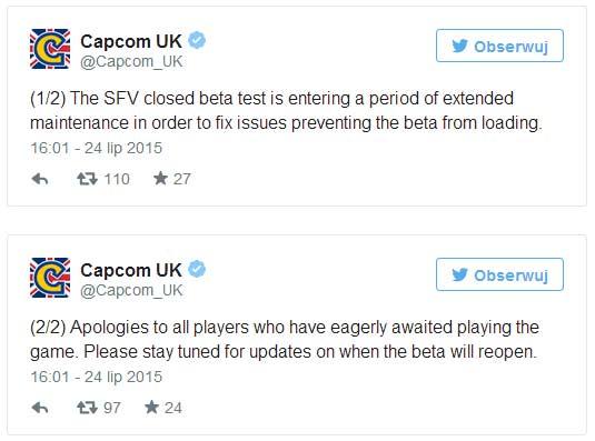 Street Fighter 5 - beta na PlayStation 4