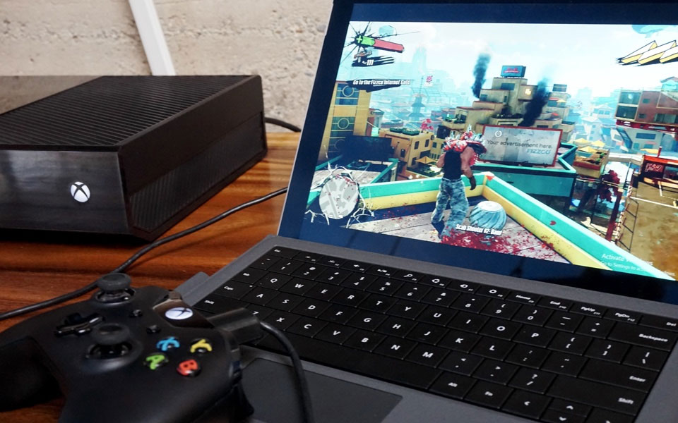 Xbox One i streaming na Windows 10. Fot.: engadget.com