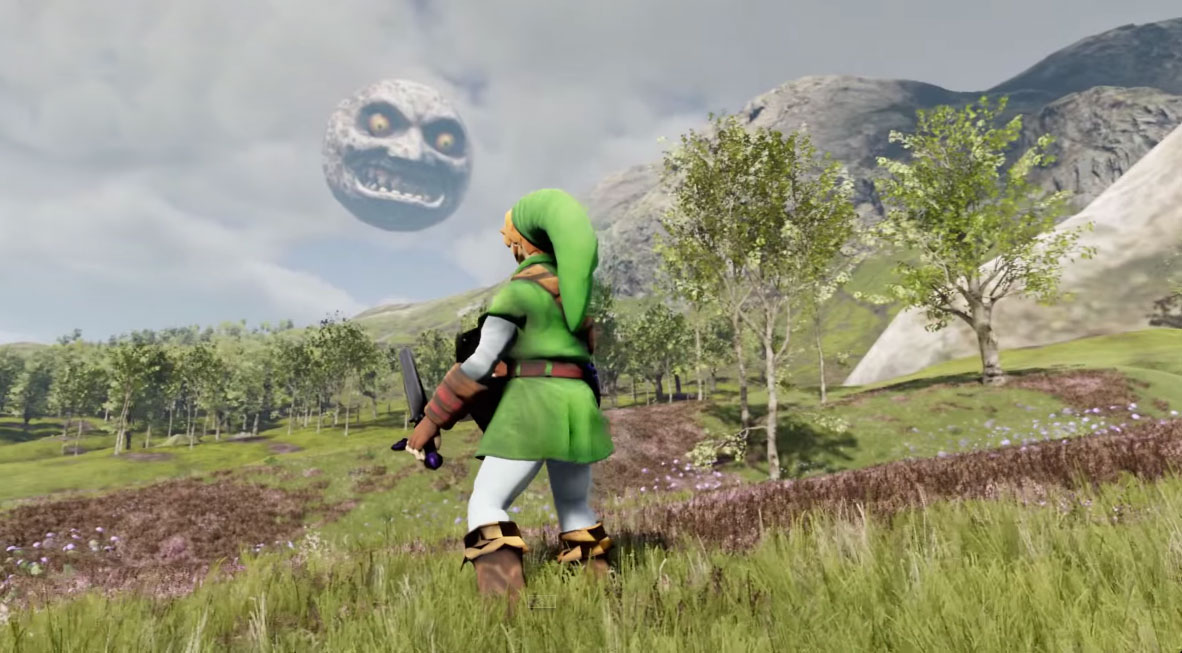 The Legend Of Zelda na Unreal Engine 4