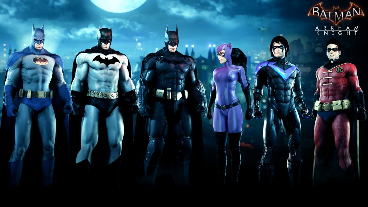 Batman: Arkham Knight – The Bat-Family Skins Pack