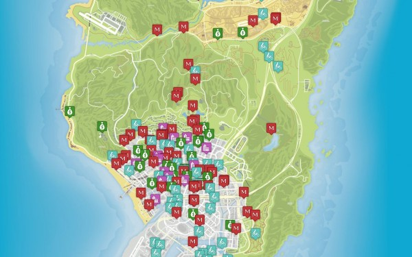 mapa do gta 5