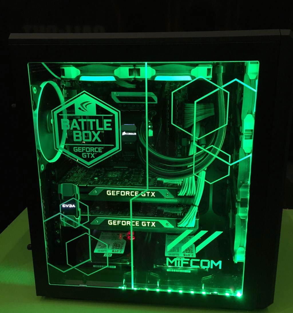 PC z 2x GeForce Titan X na pokładzie