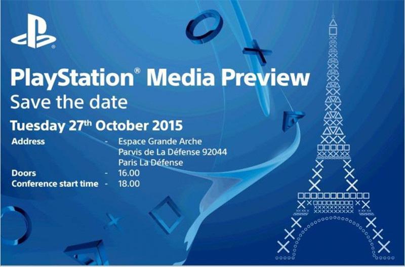 Sony na Paris Games Week