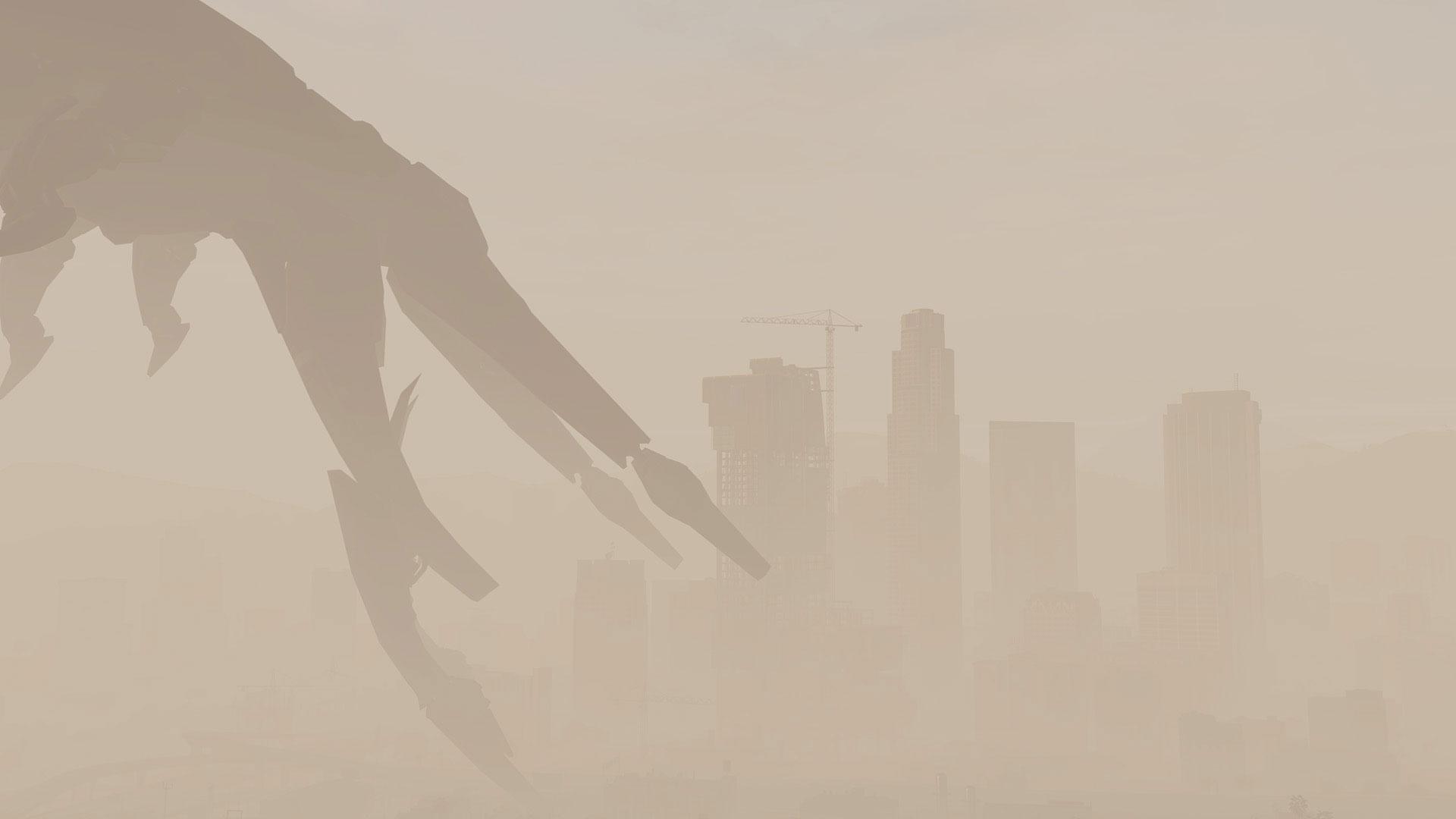 Reaper Ship w GTA V